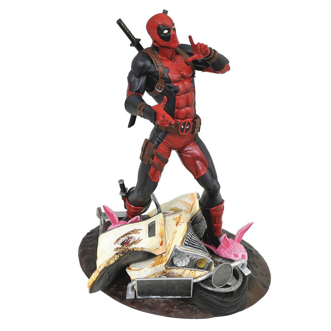 Marvel Gallery Taco Truck Deadpool PVC Diaorama Figure by Diamond Select Toys -Diamond Select toys - India - www.superherotoystore.com