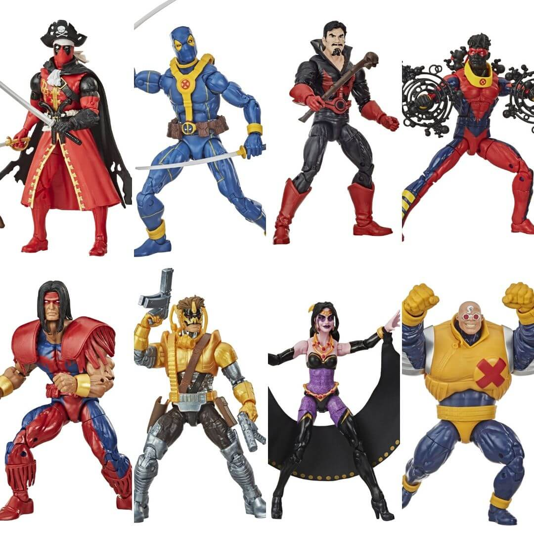 Deadpool Marvel Legends Strong Guy BAF 7 Pack by Hasbro -Hasbro - India - www.superherotoystore.com