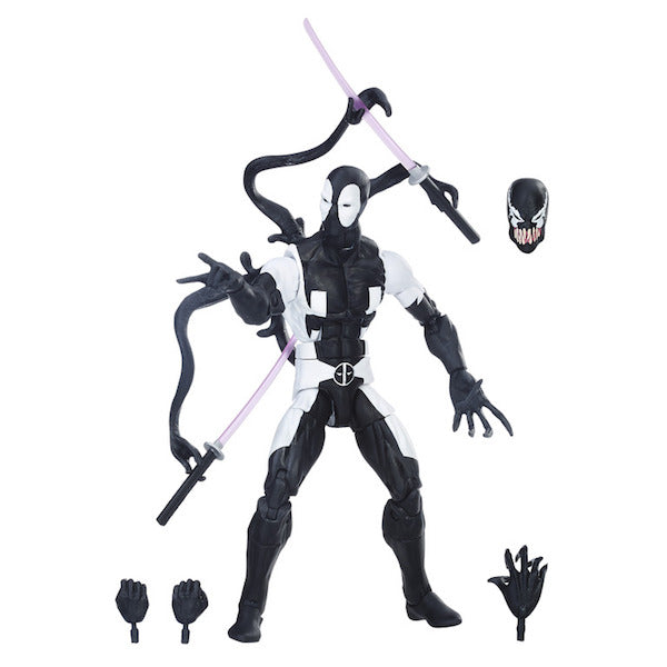 Deadpool Marvel Legends: Deadpool Back In Black Figure by Hasbro