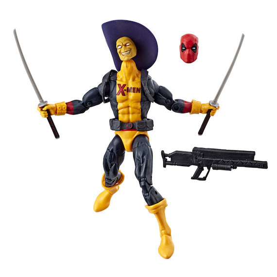 Marvel Legends Deadpool in Yellow and Black Uniform by Hasbro