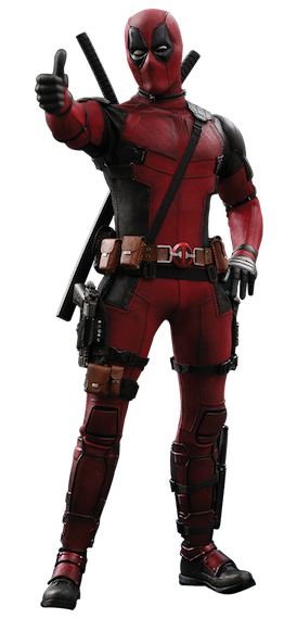 Deadpool 2: Deadpool 1/6th Scale Figure by Hot Toys