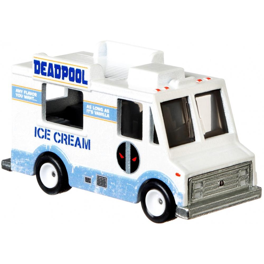 Deadpool Ice Cream Truck 1:64 Scale Die-Cast Car by Hot Wheels