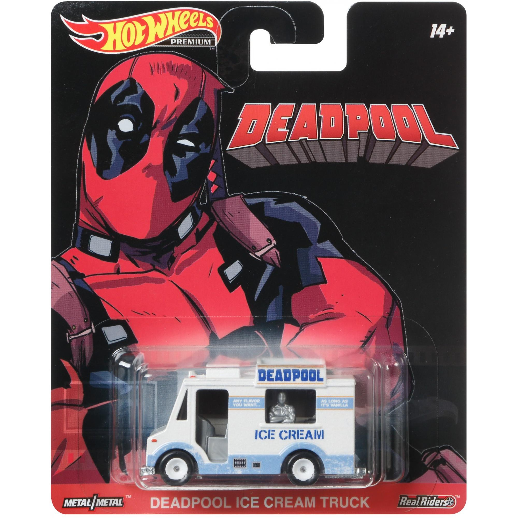 Deadpool Ice Cream Truck 1:64 Scale Die-Cast Car by Hot Wheels -Hot Wheels - India - www.superherotoystore.com