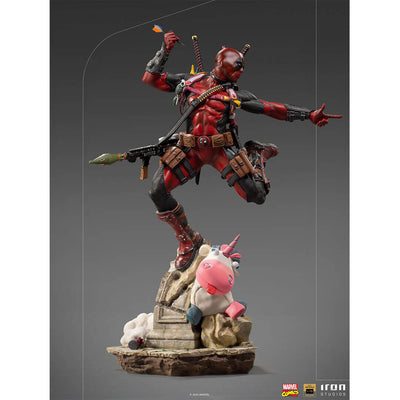 Marvel Comics - Deadpool 1:10th Scale Deluxe Statue by Iron Studios -Iron Studios - India - www.superherotoystore.com