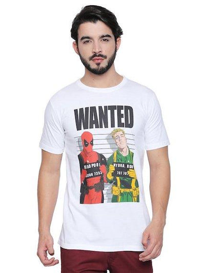 Wanted Deadpool T-Shirt by Posterboy -Posterboy - India - www.superherotoystore.com