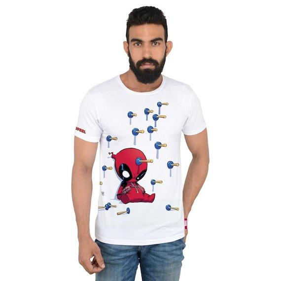 Deadpool Dart T-Shirt by Posterboy -Posterboy - India - www.superherotoystore.com