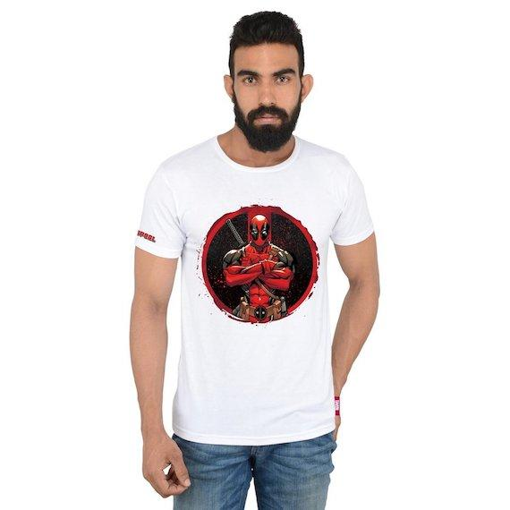 Deadpool Stance T-Shirt by Posterboy -Posterboy - India - www.superherotoystore.com