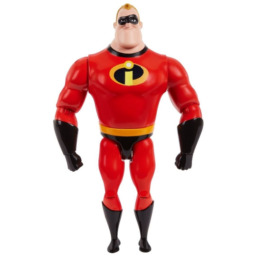 Disney Pixar The Incredibles Mr Incredible Figure by Mattel -Mattel - India - www.superherotoystore.com