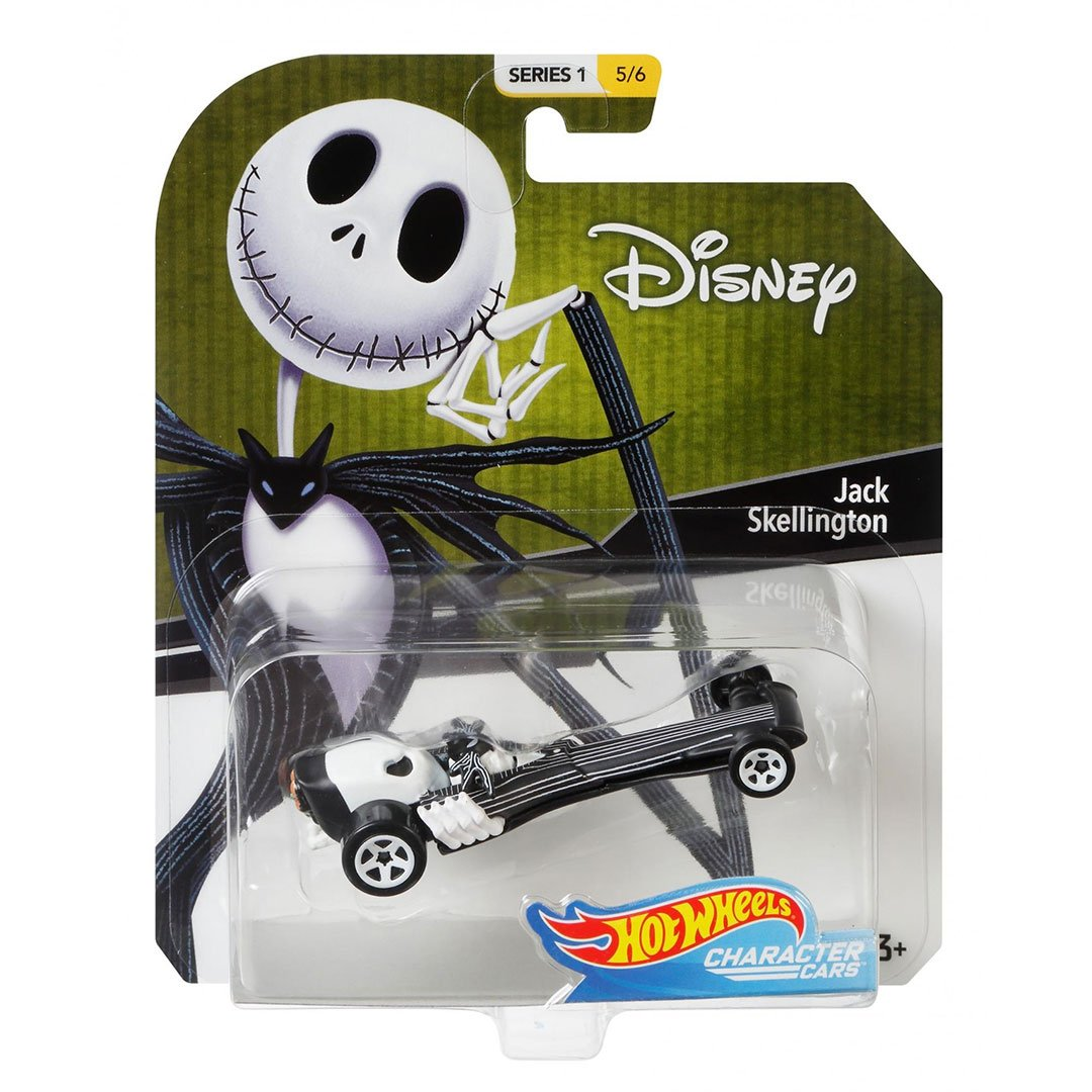 Disney Jack Skellington 1:64 Scale Di-Cast Car by Hot Wheels -Hot Wheels - India - www.superherotoystore.com