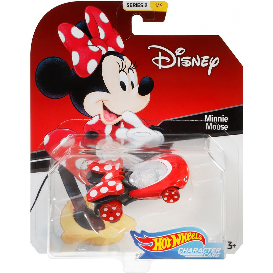Disney Minnie Mouse 1:64 Scale Die-Cast Car by Hot Wheels -Hot Wheels - India - www.superherotoystore.com
