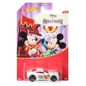 Disney Prince Pauper Torque Twister Die Cast Car by Hot Wheels