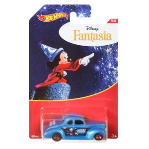 Disney Fantasia 40 Ford Coupe Die Cast Car by Hot Wheels