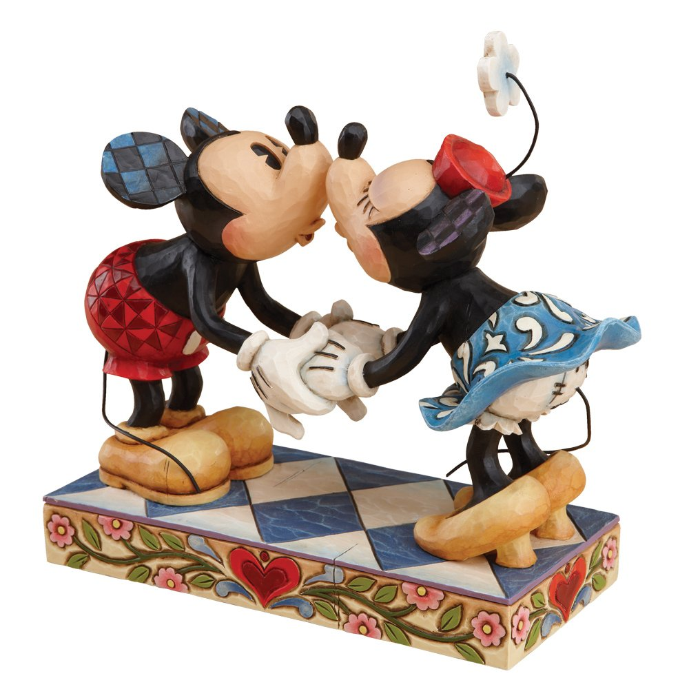 Disney Mickey & Minnie Kissing Figure by Enesco