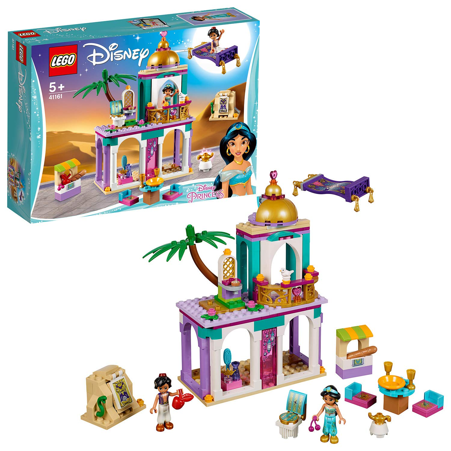 Aladdin and Jasmine's Palace Set By Lego -Lego - India - www.superherotoystore.com
