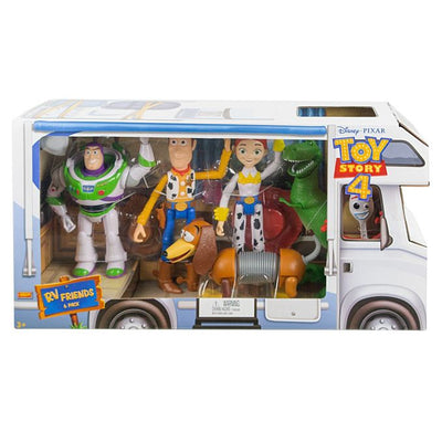 Toy Story RV Friends 6 Pack Figure Set by Mattel -Mattel - India - www.superherotoystore.com