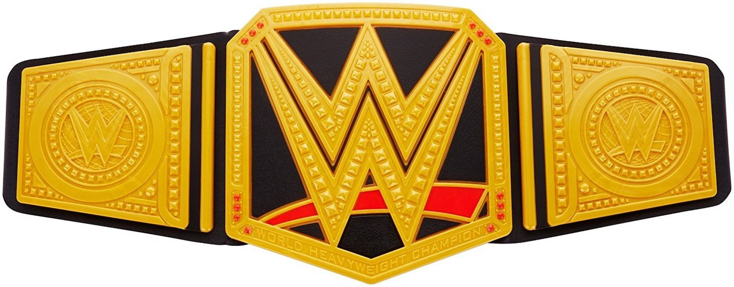 WWE Championship Belt by Mattel