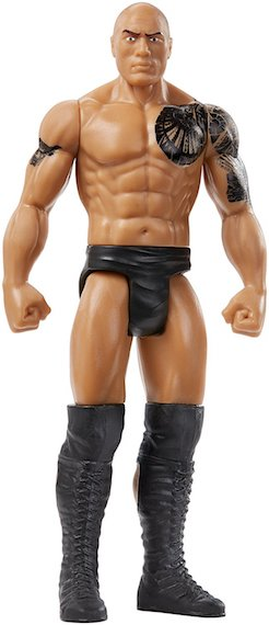 WWE The Rock Figure by Mattel