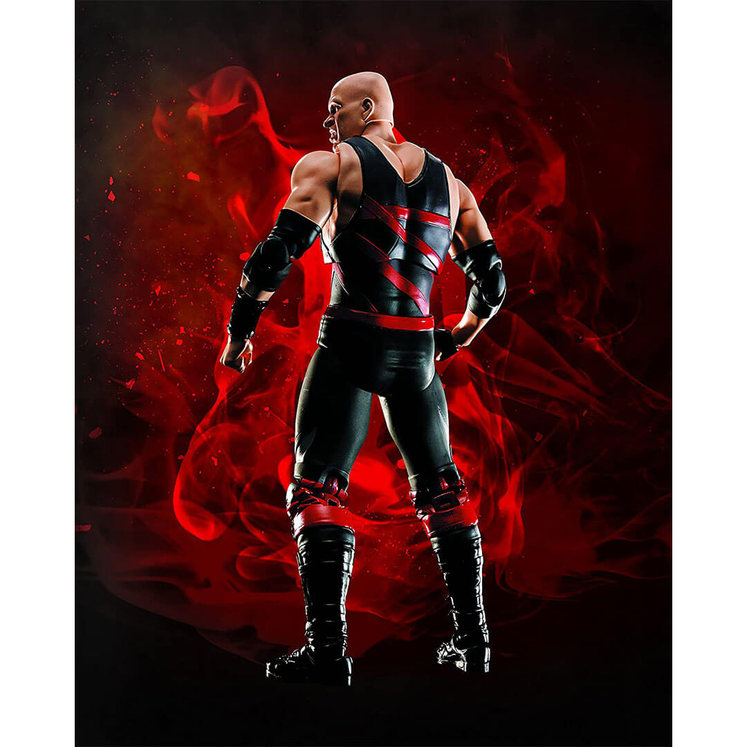 44f17a5f244 WWE Superstar Series Kane Figure by SH Figuarts