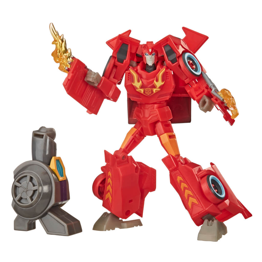 Transformers Cyberverse Deluxe Hot Rod Figure by Hasbro -Hasbro - India - www.superherotoystore.com
