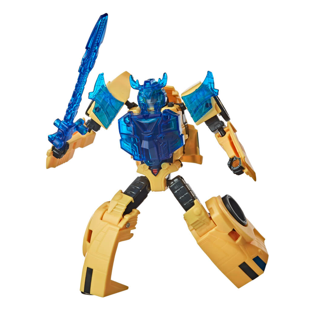 Transformers Cyberverse Battle Call Bumblebee Figure by Hasbro -Hasbro - India - www.superherotoystore.com