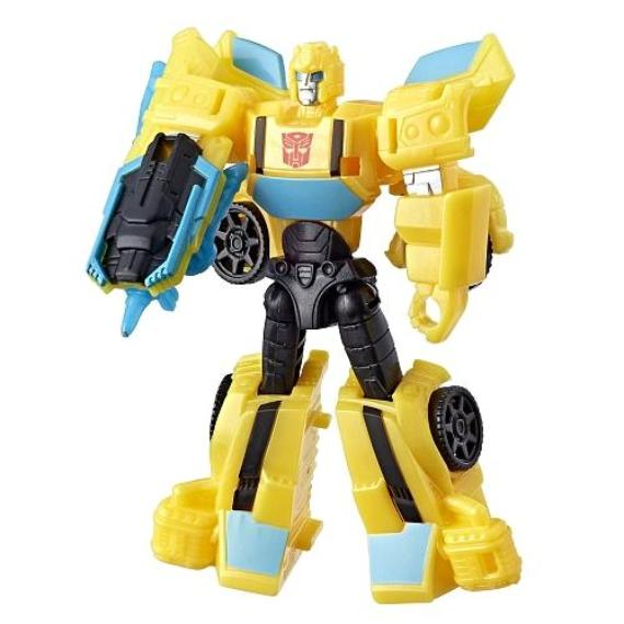Transformers Cyberverse Bumblebee Stingshot Figure by Hasbro