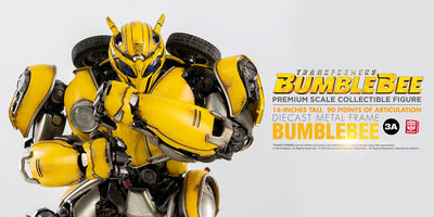 Transformers Bumblebee Movie Premium Scale Figure by ThreeA -ThreeA - India - www.superherotoystore.com