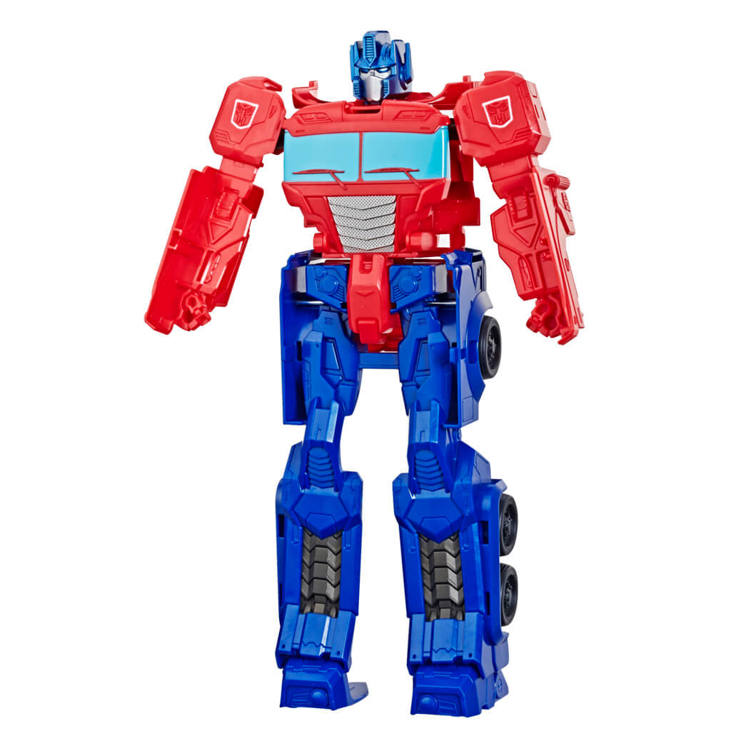 Transformers Athentics Titan Changers Optimus Prime Figure by Hasbro -Hasbro - India - www.superherotoystore.com