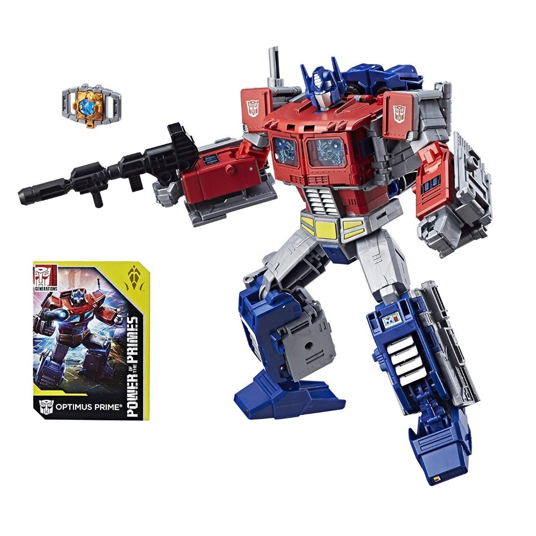 Transformers Generation Power Of The Primes Optimus Prime Figure by Hasbro