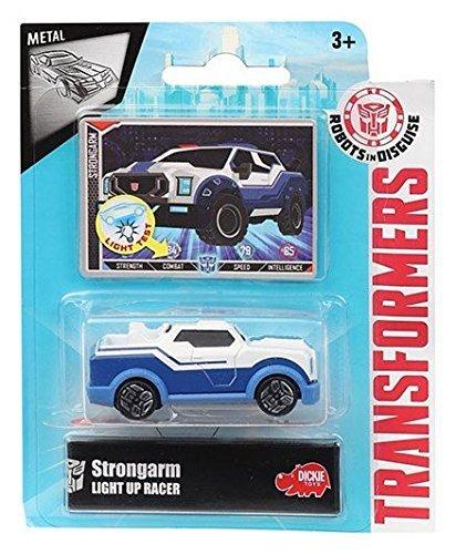 Transformers Robots in Disguise Light-Up Strongarm Die-Cast Car by Dickie Toys