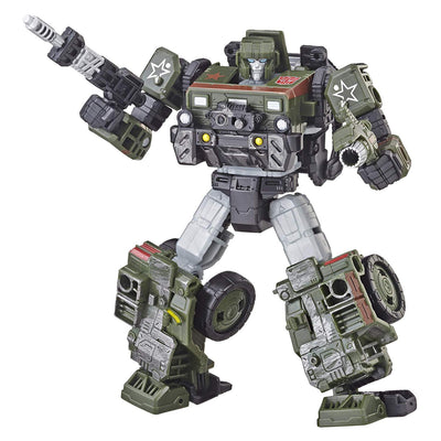 Transformers Siege War For Cybertron: Autobot Hound Deluxe Class Figure by Hasbro
