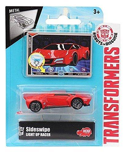 Transformers Robots in Disguise Light-Up Sideswipe Die-Cast Car by Dickie Toys