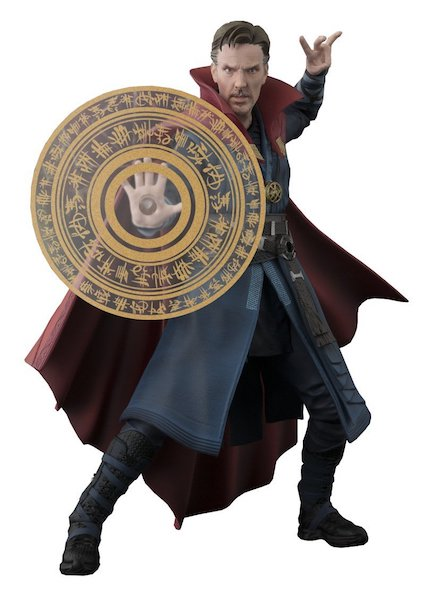 Doctor Strange S.H. Figuarts Doctor Strange & Flaming Set Figure by Bandai