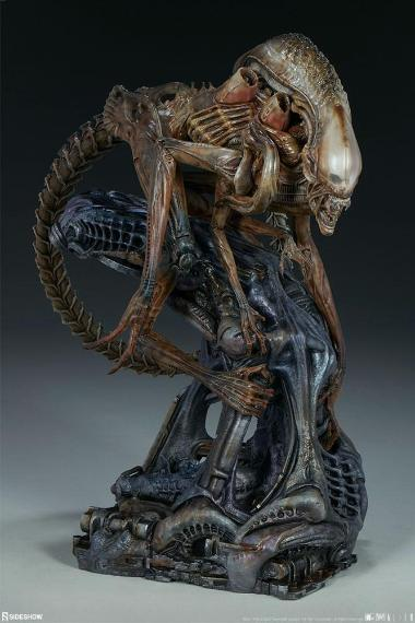 Alien Warrior - Mythos Maquette Statue by Sideshow Collectibles