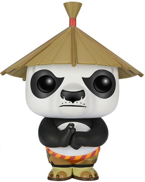 Kung Fu Panda: Po with hat Pop! Vinyl Figure by Funko
