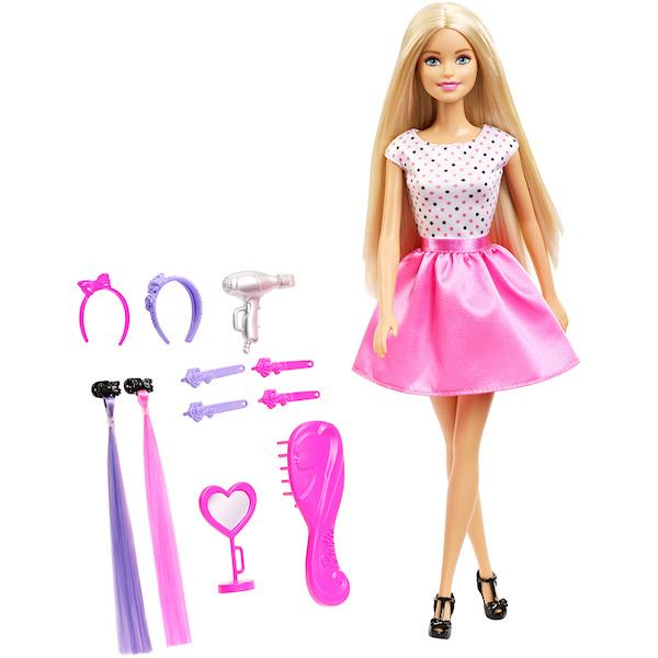 Barbie Doll and Make-up Playset by Mattel -Mattel - India - www.superherotoystore.com