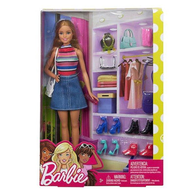 Barbie Doll and Dress-up Playset by Mattel -Mattel - India - www.superherotoystore.com