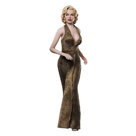 Marilyn Monroe Gold Dress 1/6th Scale Figure by Star Ace Toys