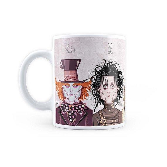 Johnny Depp Tribute Mug by Graphicurry -Graphicurry - India - www.superherotoystore.com