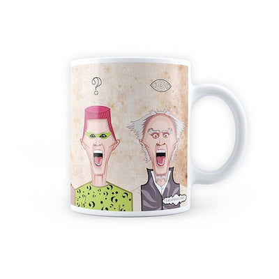 Jim Carrey Art Mug by Graphicurry -Graphicurry - India - www.superherotoystore.com