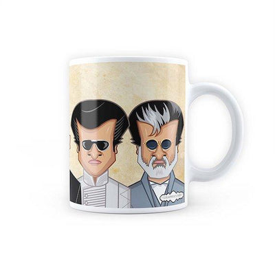 Rajni Sir Art Mug -Graphicurry - India - www.superherotoystore.com