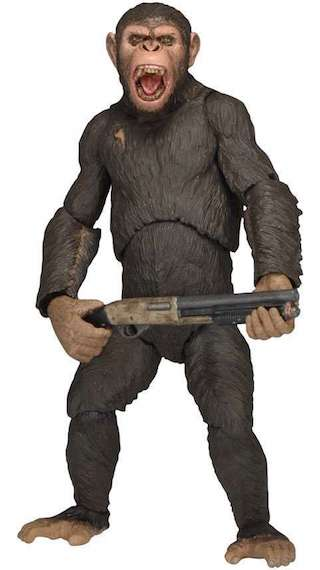 Dawn of the Planet of the Apes (Series 2) Caesar Figure by Neca -NECA - India - www.superherotoystore.com