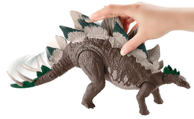 Jurassic World Dual Attack Stegosaurus Figure by Mattel -Mattel - India - www.superherotoystore.com