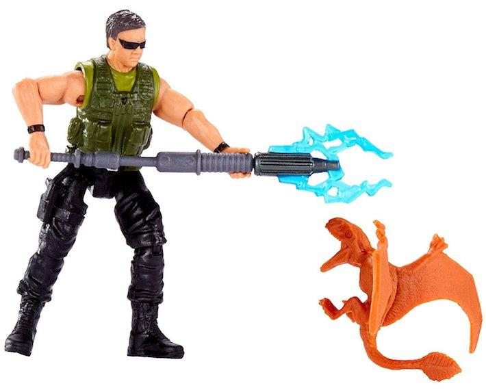 Jurassic World Mercenary and Dimorphodon Figure by Mattel -Mattel - India - www.superherotoystore.com