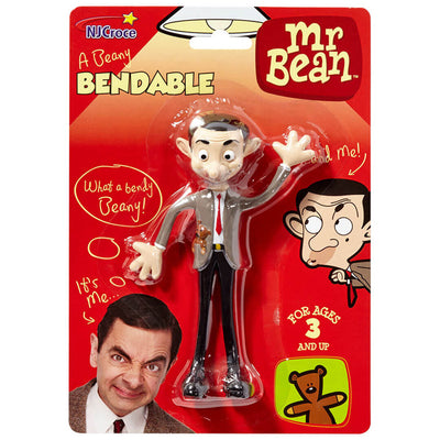 Mr. Bean Bendable Figure by NJ Croce -NJ Croce - India - www.superherotoystore.com