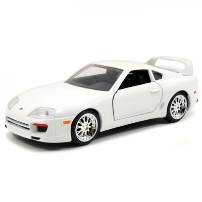 Fast & Furious 1:32 Scale Brian's White Toyota Supra Die-Cast Car by Jada Toys