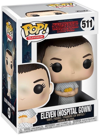 Stranger Things Eleven in Hospital Gown Pop! Vinyl Figure by Funko