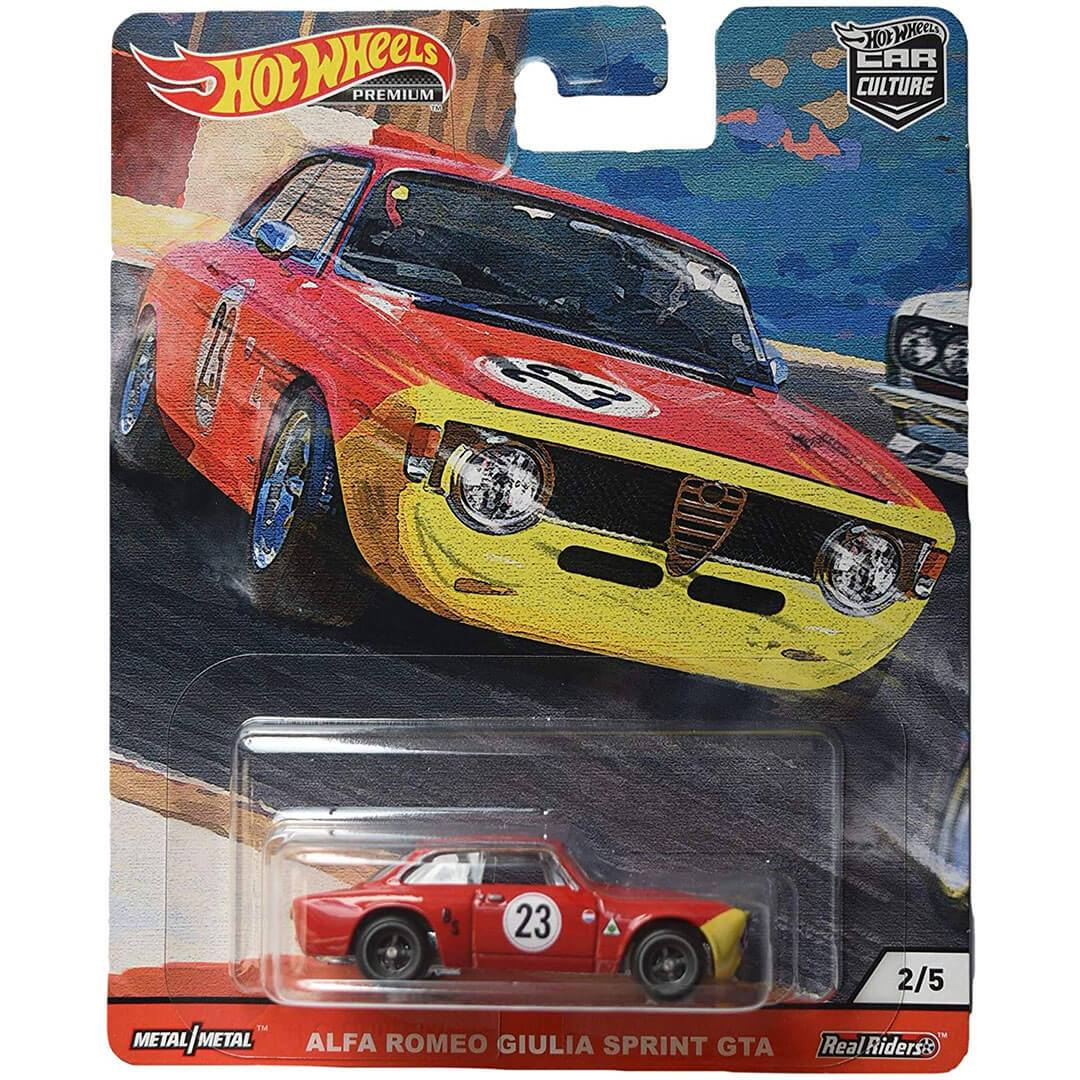 Car Culture Alfa Romeo Giulia Sprint GTA 1:64 Scale Die-Cast Car by Hot Wheels -Hot Wheels - India - www.superherotoystore.com