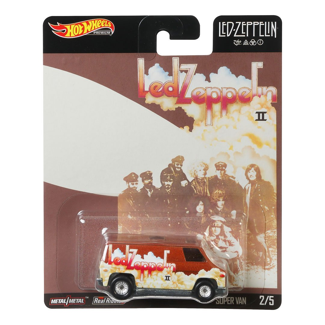 Led Zeppelin Super Van 1:64 Scale Die-Cast Car by Hot Wheels -Hot Wheels - India - www.superherotoystore.com