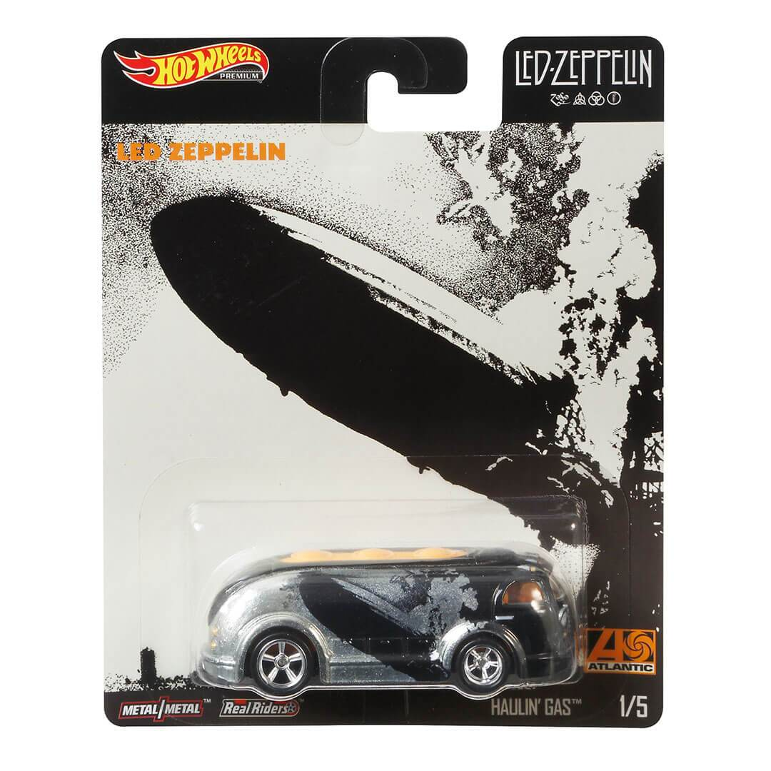 Led Zeppelin Hauling Gas 1:64 Scale Die-Cast Car by Hot Wheels -Hot Wheels - India - www.superherotoystore.com