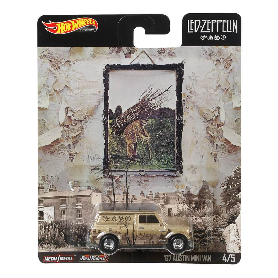Led Zeppelin 67 Austin Mini Van 1:64 Scale Die-Cast Car by Hot Wheels -Hot Wheels - India - www.superherotoystore.com